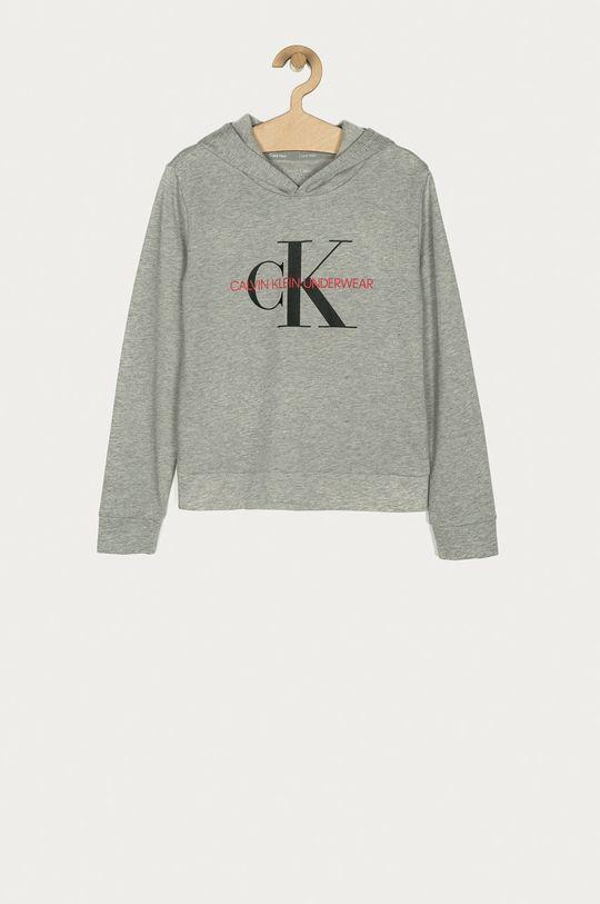 jasny szary Calvin Klein Underwear - Bluza bawełniana dziecięca 128-176 cm Dziecięcy
