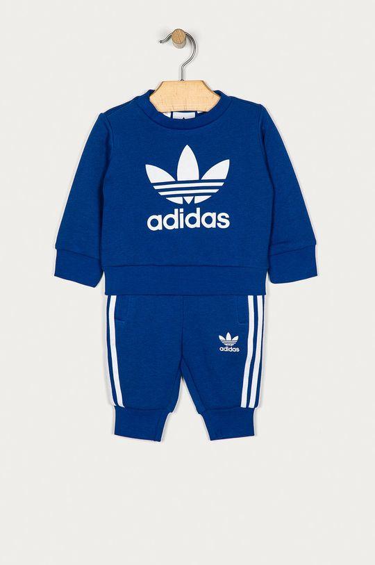 modrá adidas Originals - Detská tepláková súprava 62-104 cm Detský