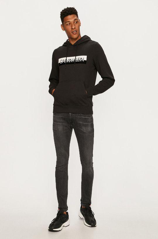 Calvin Klein - Mikina černá