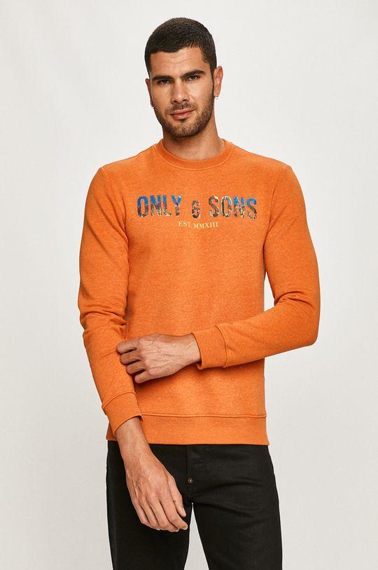 portocaliu Only & Sons - Bluza De bărbați