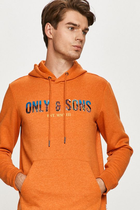 portocaliu Only & Sons - Bluza