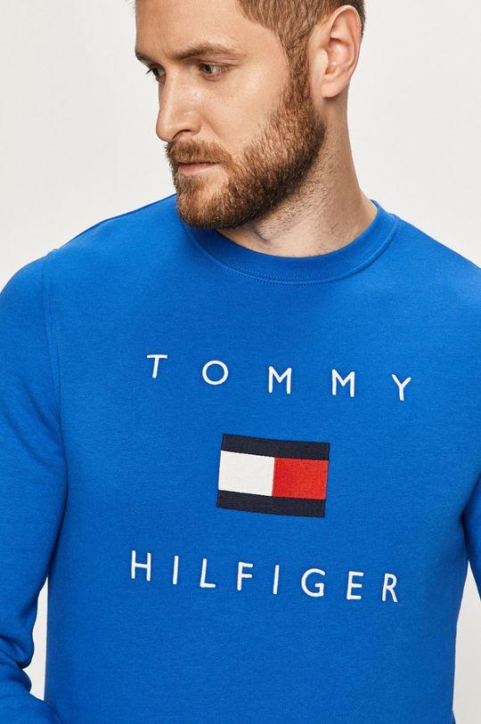 niebieski Tommy Hilfiger - Bluza