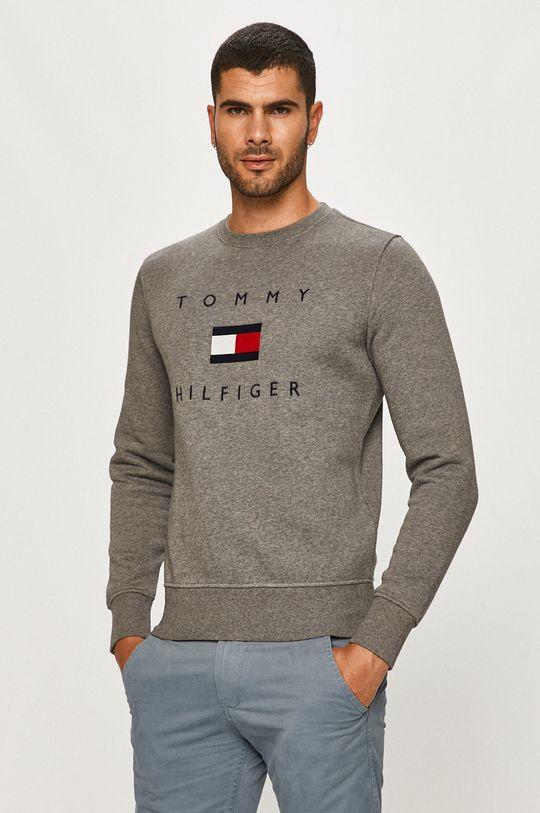 szary Tommy Hilfiger - Bluza