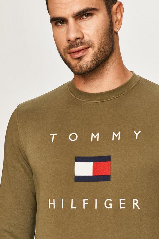 oliwkowy Tommy Hilfiger - Bluza