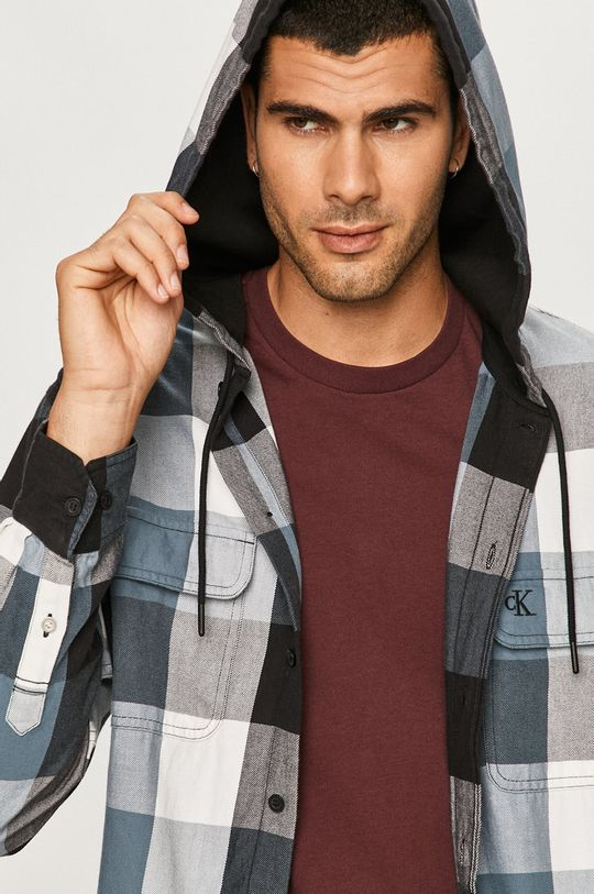 negru Calvin Klein Jeans - Camasa De bărbați