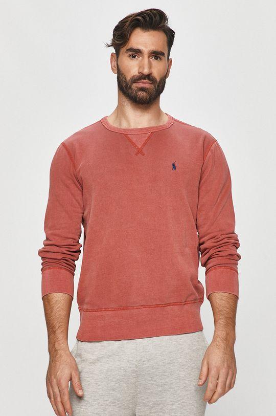 różowy Polo Ralph Lauren - Bluza Męski