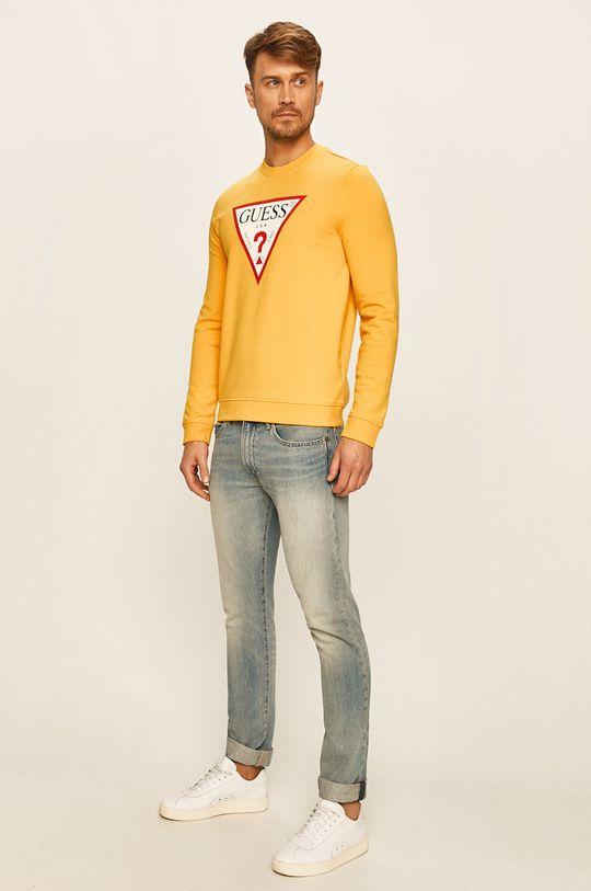 Guess Jeans - Bluza żółty