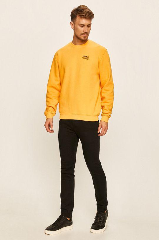 Guess Jeans - Mikina žlutá