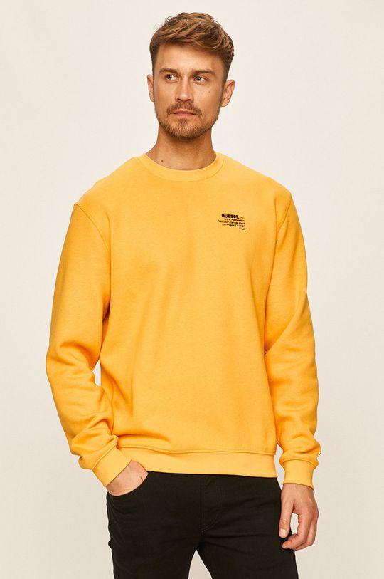 žlutá Guess Jeans - Mikina
