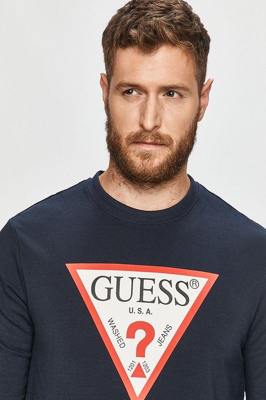 námořnická modř Guess Jeans - Mikina