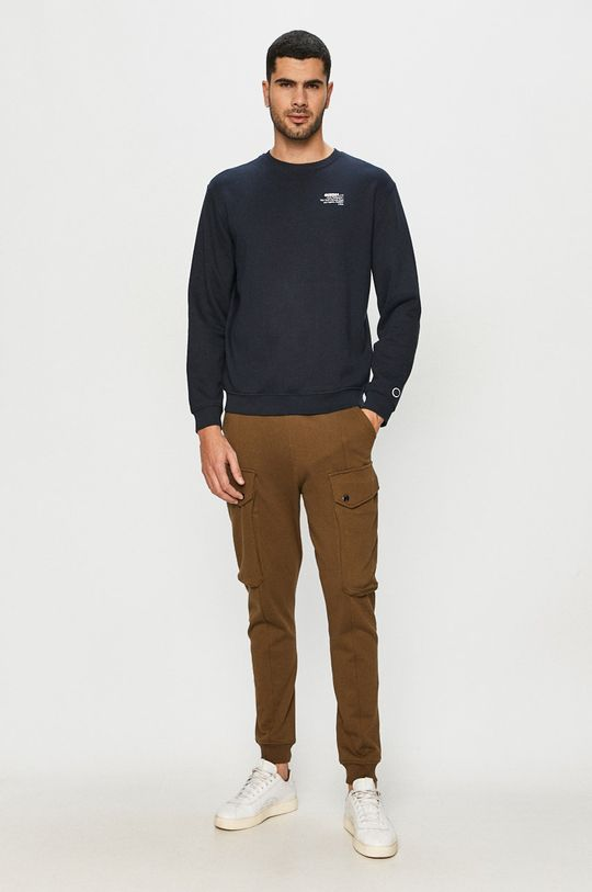 Guess Jeans - Mikina námořnická modř
