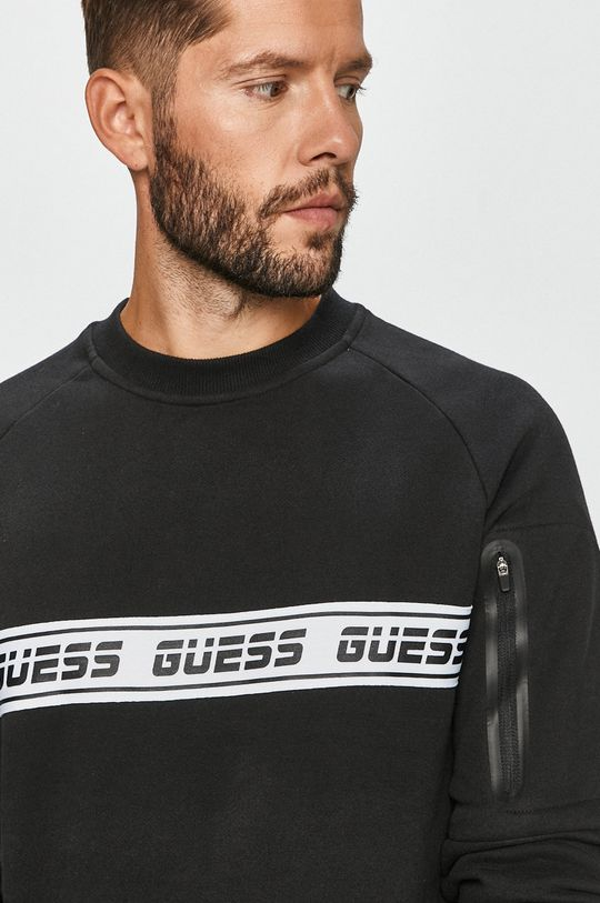 negru Guess Jeans - Bluza De bărbați
