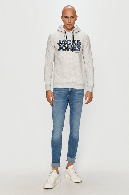 Jack & Jones - Bluza jasny szary
