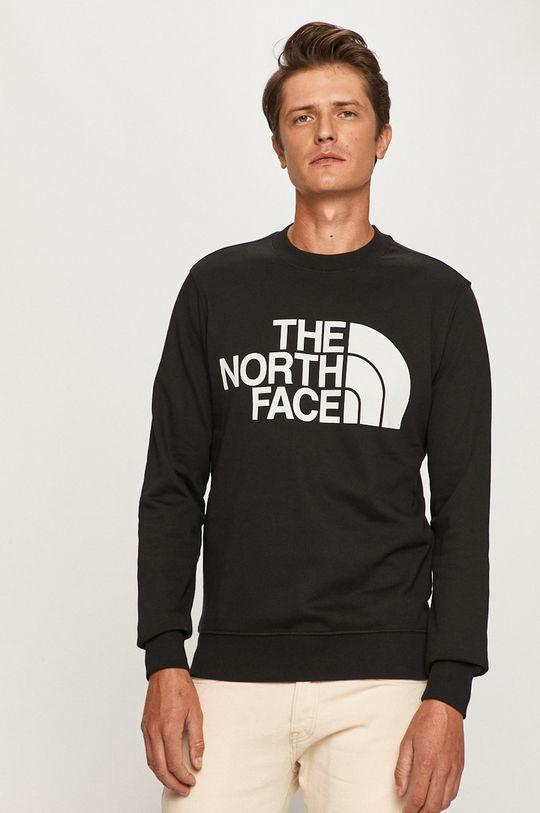 czarny The North Face - Bluza Męski