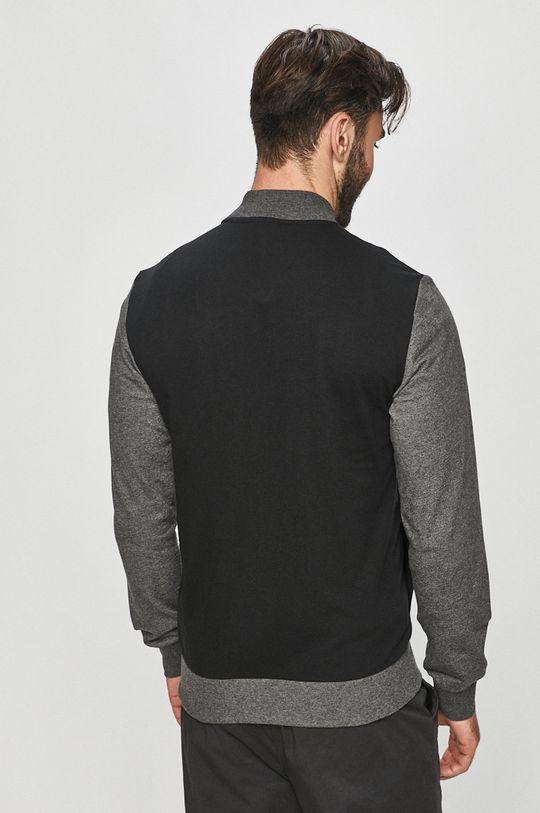 Emporio Armani - Mikina  Materiál č. 1: 60% Bavlna, 40% Polyester Materiál č. 2: 57% Bavlna, 5% Elastan, 38% Polyester