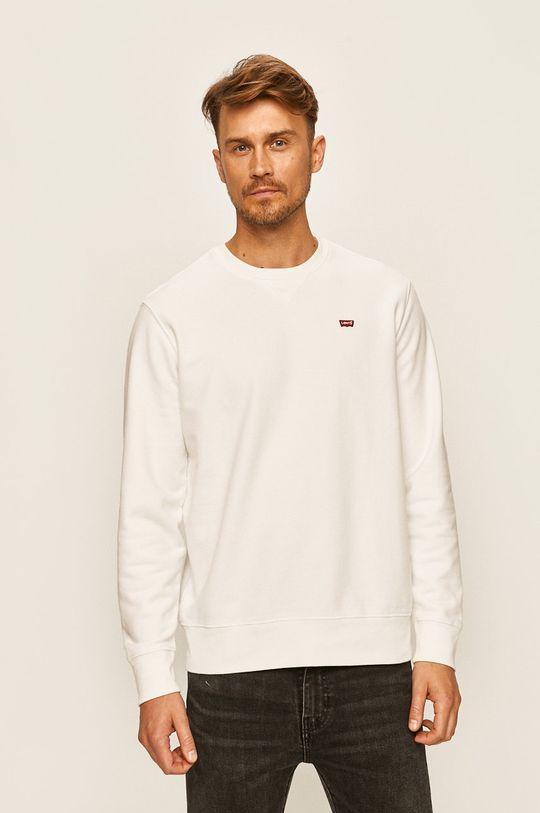 biały Levi's - Bluza Męski
