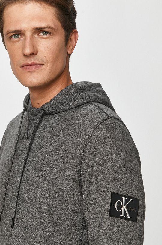 szary Calvin Klein Jeans - Bluza
