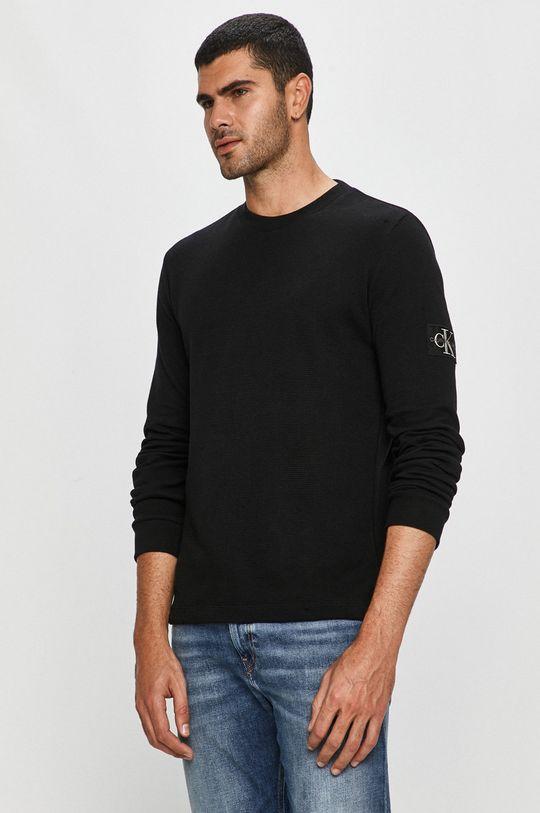 czarny Calvin Klein Jeans - Bluza Męski