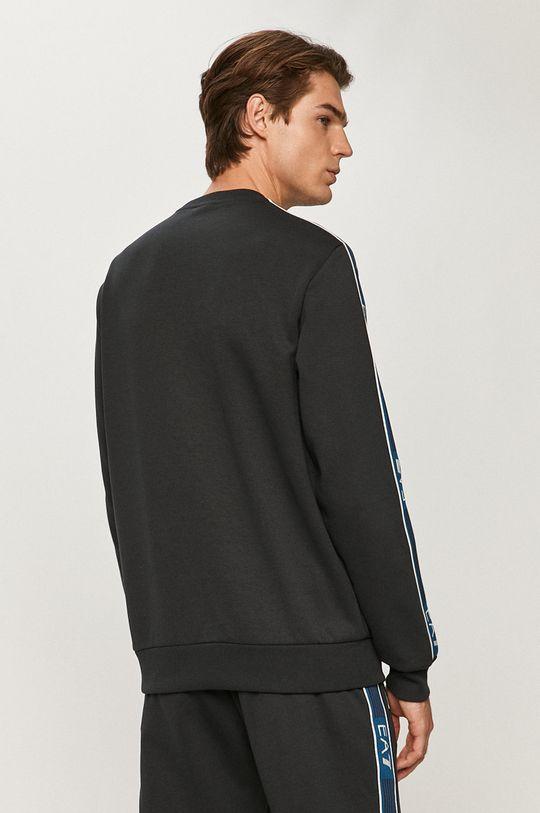 EA7 Emporio Armani - Bluza Materiał zasadniczy: 35 % Bawełna, 65 % Poliester, Wstawki: 100 % Poliester, Ściągacz: 50 % Bawełna, 1 % Elastan, 49 % Poliester