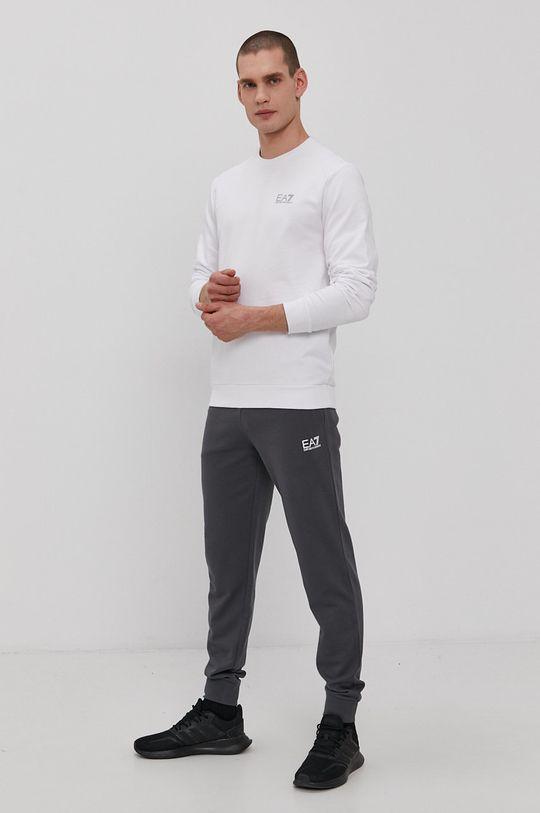 EA7 Emporio Armani - Tričko s dlouhým rukávem bílá