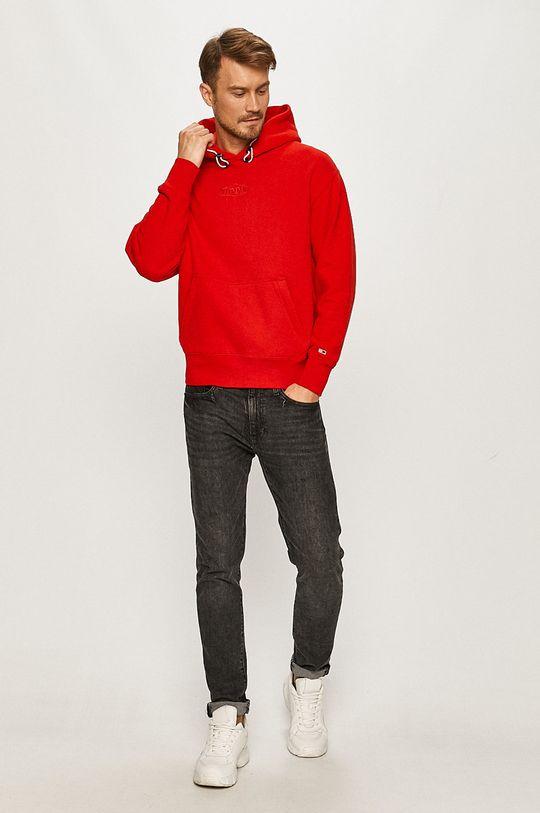 Tommy Jeans - Bluza rosu