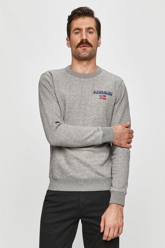 gri Napapijri - Bluza De bărbați
