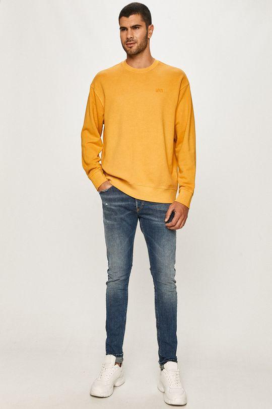 Levi's - Bluza żółty