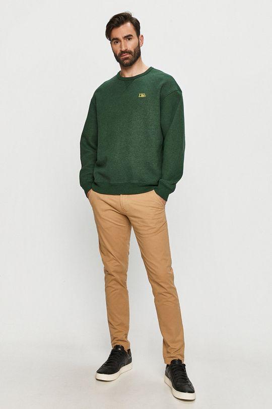 Levi's - Bluza bawełniana zielony