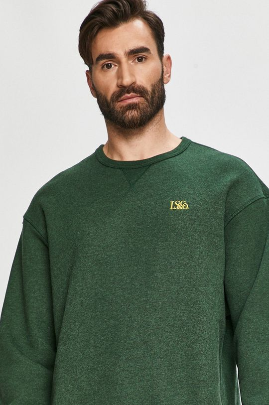 zielony Levi's - Bluza bawełniana