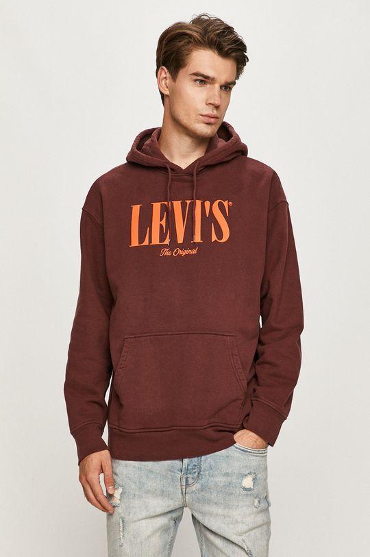 rosu Levi's - Hanorac de bumbac De bărbați