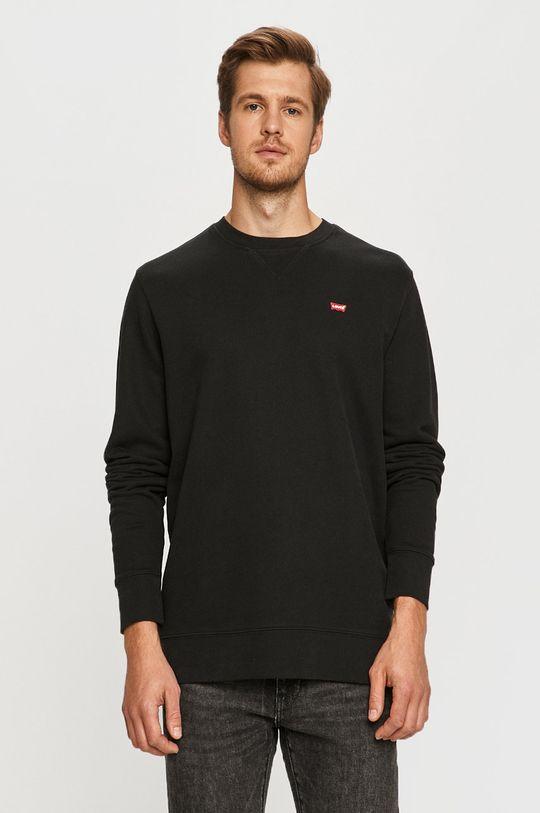 czarny Levi's - Bluza Męski