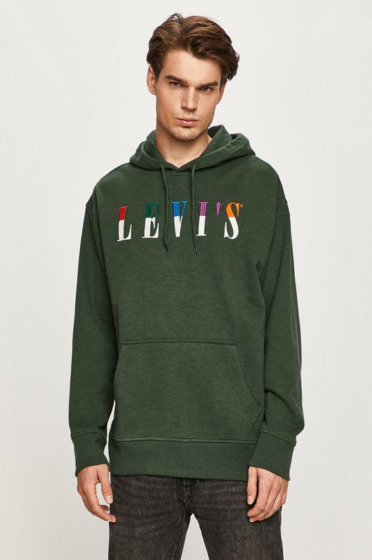 zelená Levi's - Mikina