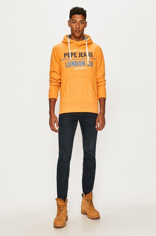 Pepe Jeans - Bluza Neville pomarańczowy