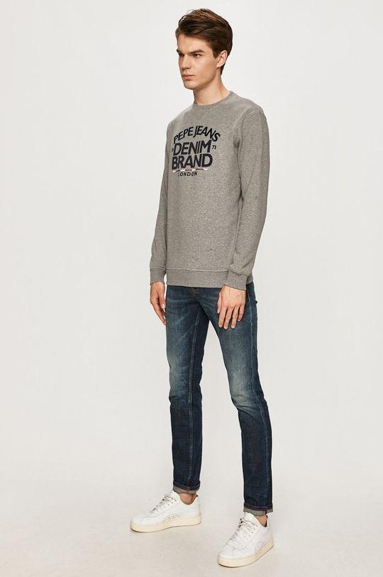 Pepe Jeans - Bluza bawełniana Harrison szary