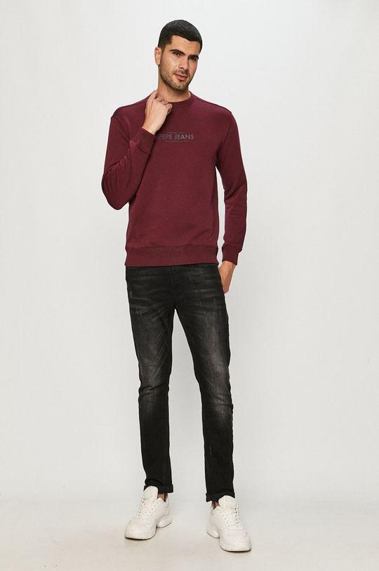 Pepe Jeans - Bluza Horace mahoniowy
