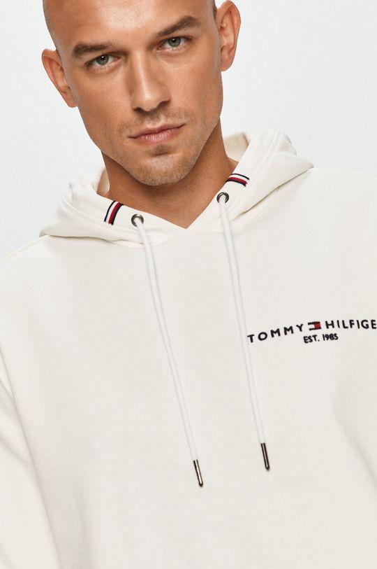 kremowy Tommy Hilfiger - Bluza