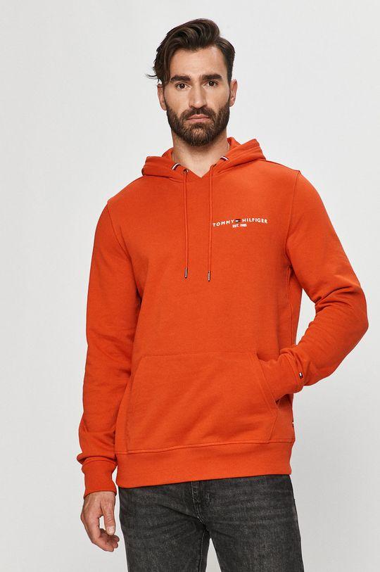 portocaliu Tommy Hilfiger - Bluza De bărbați