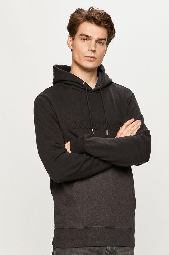 czarny Quiksilver - Bluza Męski