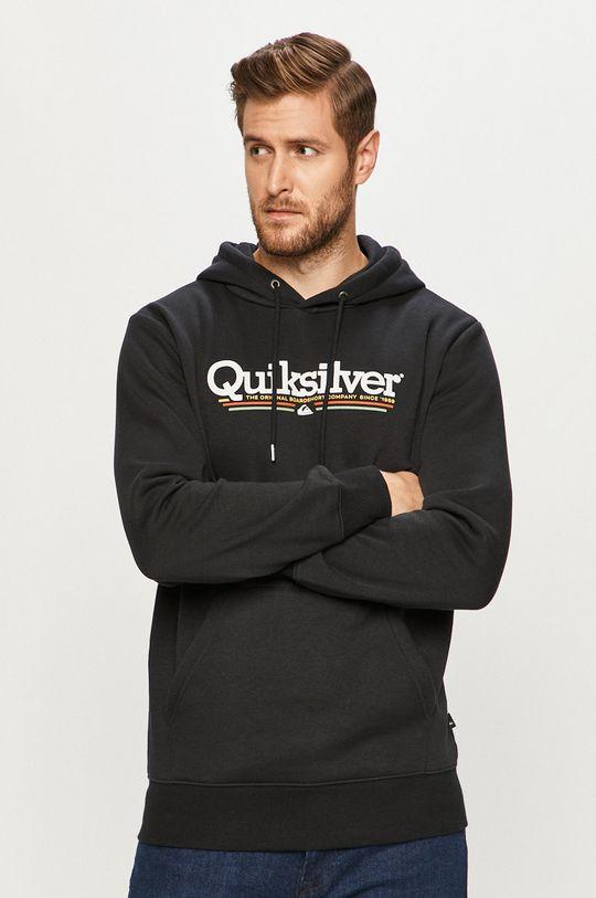 negru Quiksilver - Bluza De bărbați