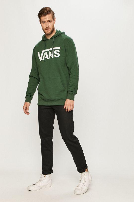 Vans - Bluza verde inchis