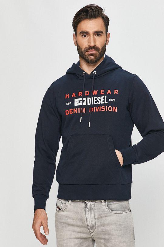 námořnická modř Diesel - Mikina