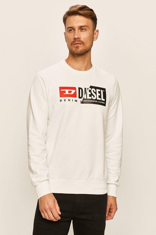 bílá Diesel - Mikina Pánský