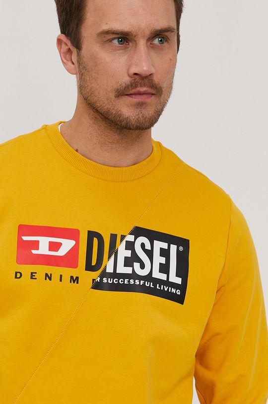 pomarańczowy Diesel - Bluza