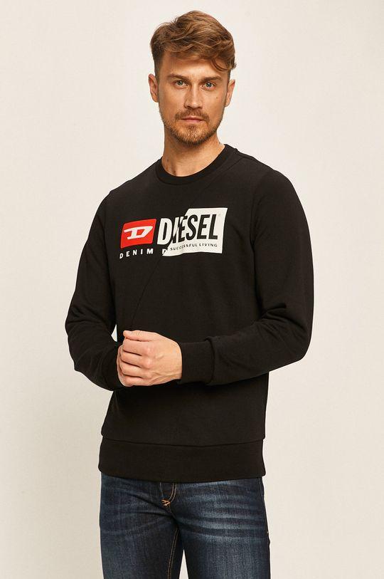 czarny Diesel - Bluza