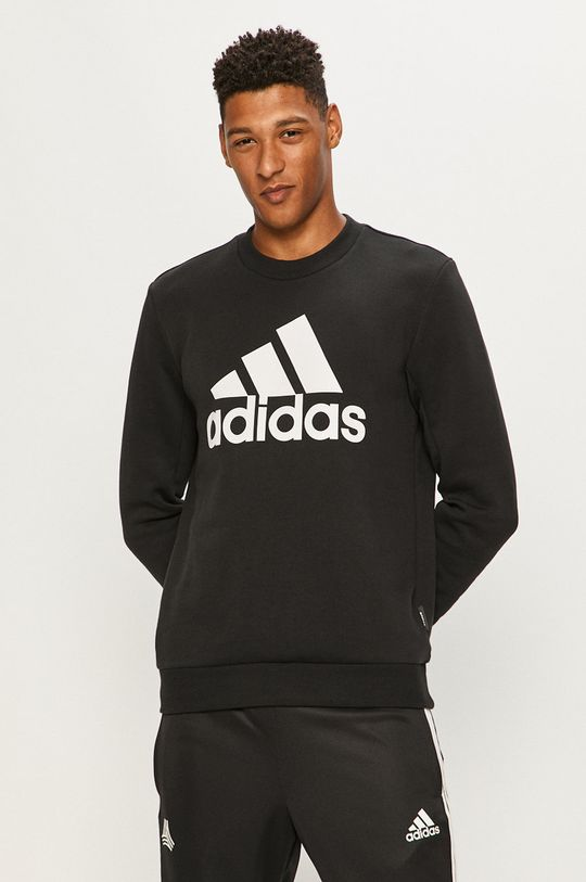 negru adidas Performance - Bluza