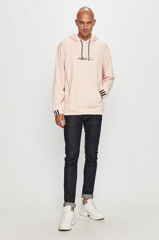 adidas Originals - Bavlnená mikina ružová