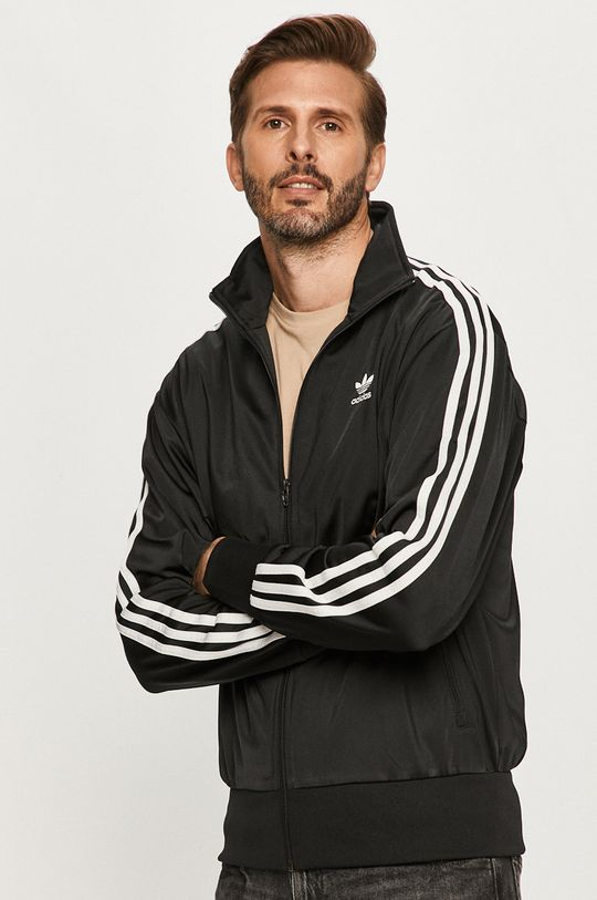 czarny adidas Originals - Bluza Męski