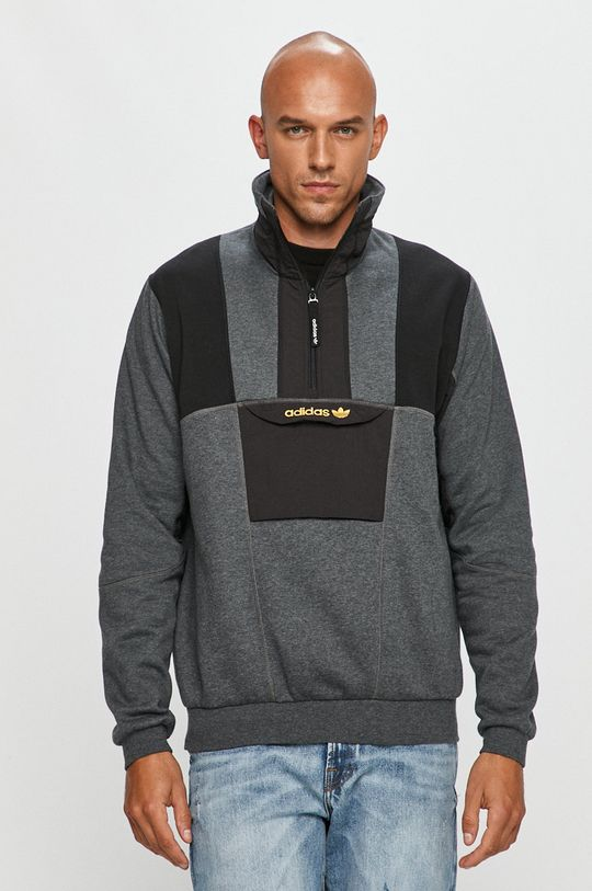 gri deschis adidas Originals - Bluza De bărbați