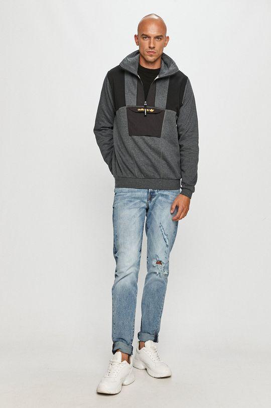 adidas Originals - Bluza gri deschis