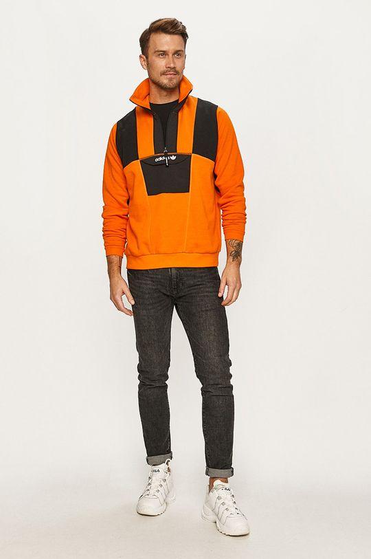 adidas Originals - Bluza pomarańczowy
